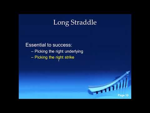 Options:  Long Straddle With Eric
