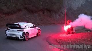 - TEST T.NEUVILLE HYUNDAI I20 WRC MONTE CARLO 2018 - CHECKPOINTRALLYE -