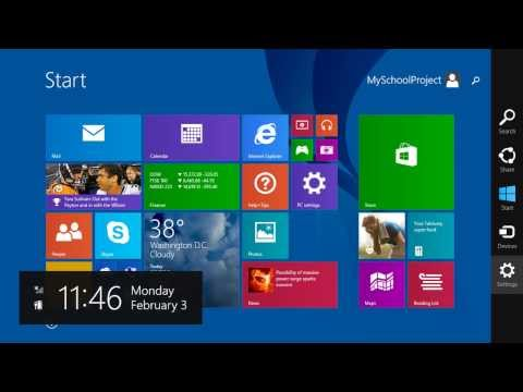 First Look: Windows 8.1 Update 1 Pre-Release Build 9600.16596 - Taskbar,Modern Apps And Much More