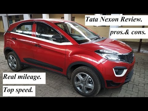 Tata Nexon honest review. Pros & Cons, mileage, top speed, price. etc.. check link