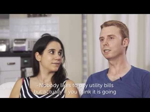 Phil & Justine saved £200 by switching to Bristol Energy
