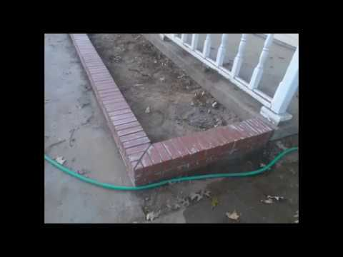 BrickLaying In Bartlett Tn - Brick Flowerbed