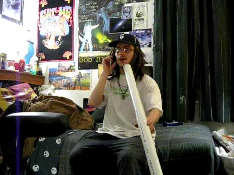 PVC Didgeridoo - My first day playing