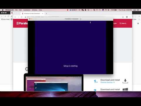 How to Install Windows 10 in MAC using Parallels Desktop - 2019