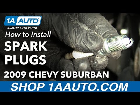 How to Install Replace Spark Plugs 2000 14 Chevy Suburban 1500 V8 5 3L