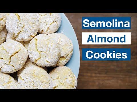 Moroccan Semolina and Almond Cookies Recipe || Le Gourmet TV Recipes