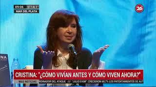 Canal 26 - Cristina Kirchner en Mar del Plata