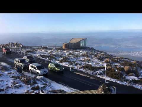 Tasmania 2014 Mount Wellington Snow