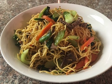Stir Fried Egg Noodles Recipe