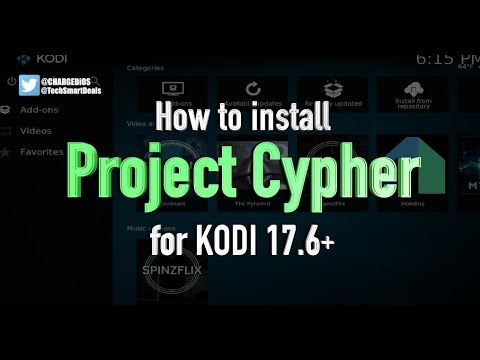 How to install PROJECT CYPHER Add-on for KODI 17.6+ (WATCH LOCAL USA CHANNELS & CABLE TV USING KODI)