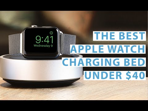 The best Apple Watch charging bed under $40