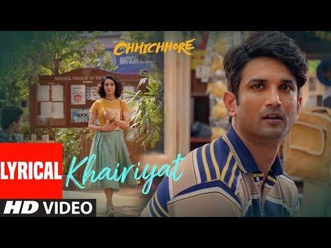 Xxx Mp4 Lyrical Khairiyat Chhichhore Nitesh Tiwari Arijit Singh Sushant Shraddha Pritam 3gp Sex