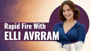 Elli AvRam's most ENJOYABLE Rapid Fire   Vicky Kaushal   Sonam Kapoor
