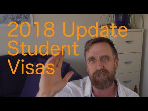 New 2018 update for Australian Student visa application