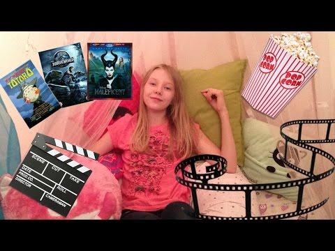 Diy movie night snacks + fort + movie projector ...