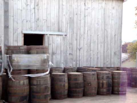 Vintage Oak Whiskey Barrels