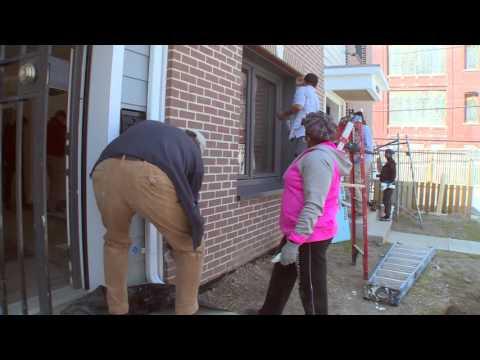 DC Volunteers Build Affordable Housing
