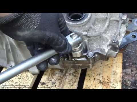 How to replace gearbox oil. Manual gearbox. Toyota Corolla years 2007 to 2015