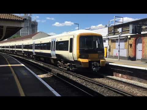 SouthEastern Class 465 024 & 466 007 Leaving Waterloo East for Dartford
