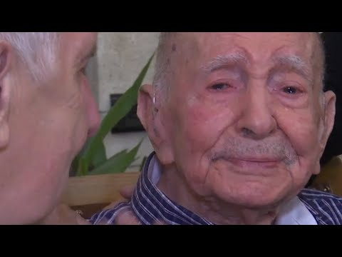 Holocaust survivor, 102, meets nephew after thinking all family died in war
