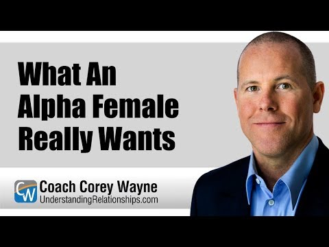 What An Alpha Female Really Wants