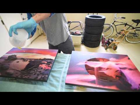 ArtResin - How to artresin your Artwork & Photography (epoxy resin clear coat)