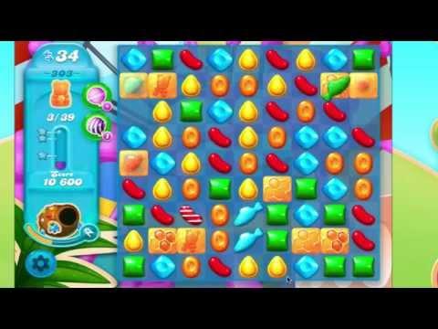 Candy Crush Soda Saga Level 303 No Booster 3* 5 moves left