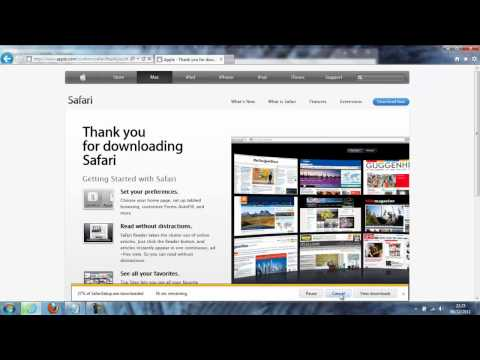 SV HowTo: How to download Safari 5.1.7 for Windows 7  ®