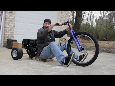 We're building a Drift Trike! Overview and Planning