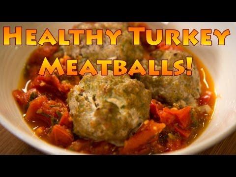 Healthy Turkey Meatball Recipe