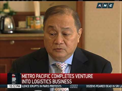 Metro Pacific completes venture into logistics business