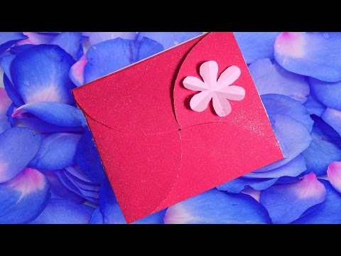 4-Fold Birthday Party Invitation Card --- DIY Paper Craft