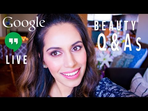DIY Beauty Q&As LIVE (Pre-Bridal Skin Care, DIYs, Makeup & More)