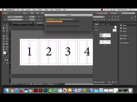 Project 6 - Gate, Roll, Accordion & Calendar Formats using InDesign