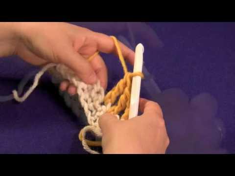 Treble/Triple Crochet (US) or Double Treble Crochet (UK)