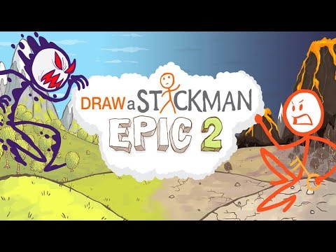THE GREAT ADVENTURES OF BANANAMAN! | Draw A stickman Epic 2