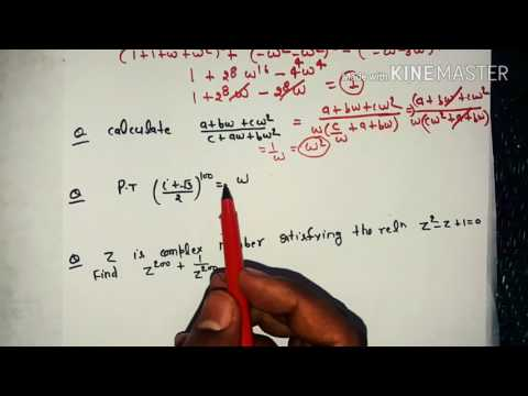 cube root of unity and nth root of unity in complex number in hindi