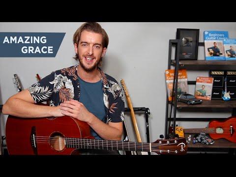 Amazing Grace - EASY Guitar Lesson - Fingerstyle Guitar Tutorial