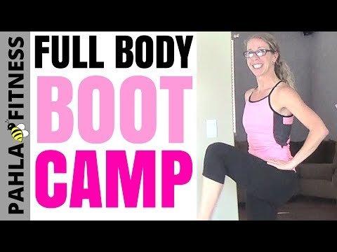 Full Body BOOT CAMP with DUMBBELLS | 40 Minute CARDIO + STRENGTH Accumulator Workout