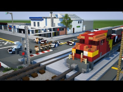 Minecraft Unstoppable AWVR Train Animation Part 3