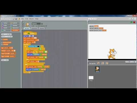 Scratch - Velocity and Jumping Tutorial