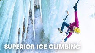 Climbing Frozen Waterfalls Just North of Detroit | Superior Ice: Episode 1