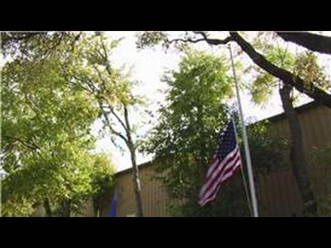 How to Handle & Fold the American Flag : When Do You Fly the Flag at Half Mast?