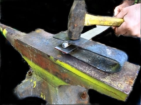 Blacksmithing: Make a Fullering Tool for Sword Making
