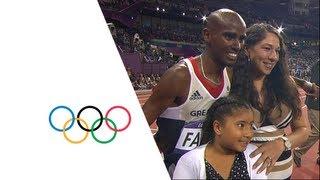 Mo Farah Wins 10,000m Gold - London 2012 Olympics