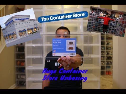 MY JORDAN COLLECTION- THE CONTAINER STORE UNBOXING