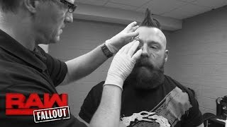 Sheamus receives 15 stitches after Raw
