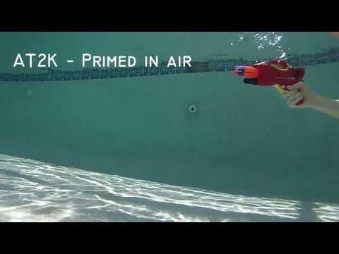 Firing Nerf Guns Under Water