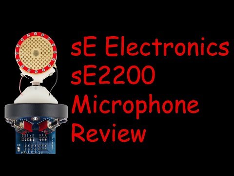 sE Electronics sE2200 Review (2017 model)