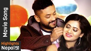Katha Timro Sunu - New Nepali Movie LOVE SASHA Song Ft. Karma, Keki Adhikari